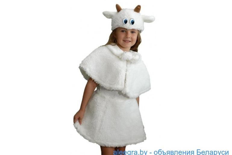 Детские меховые  карнавальные костюмы прокат