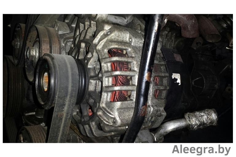 Двигатель и навесное к VW