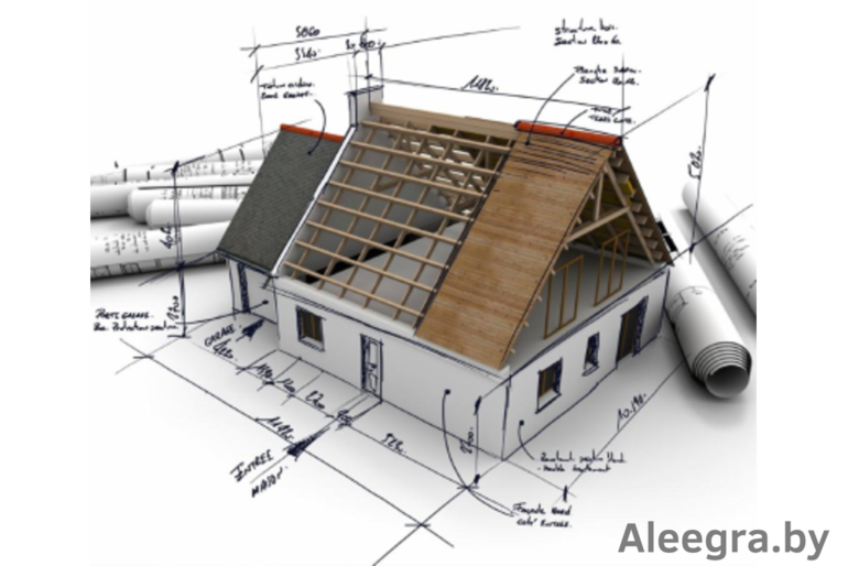 Разработка индивидуальных проектов домов.