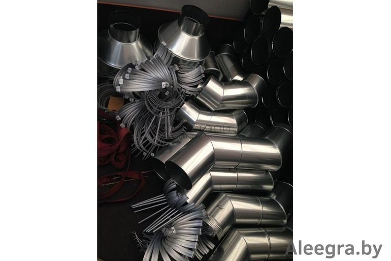 Водостоки металлические оцинкованные для крыши, недорого. Производство в Минске