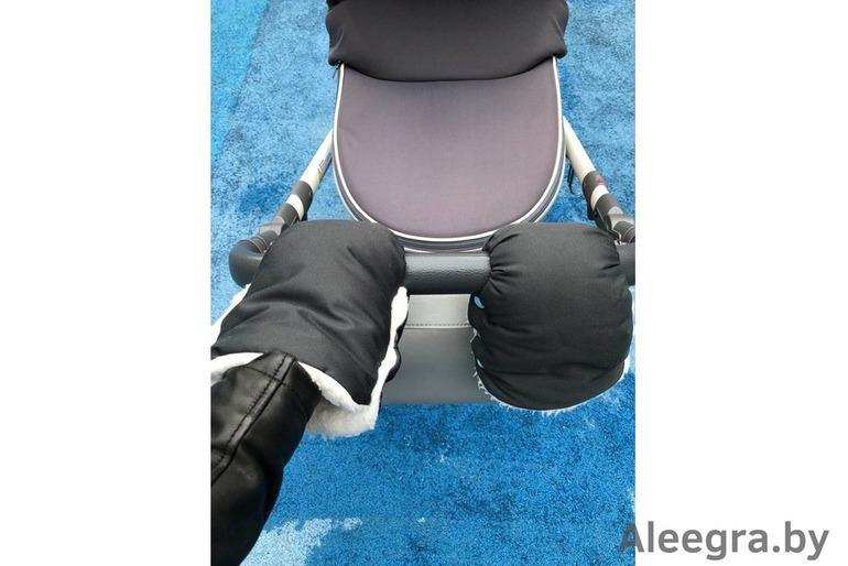 Муфта для рук, муфта для коляски, муфточка, варежки-муфты