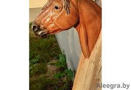 Голова коня,на стену.