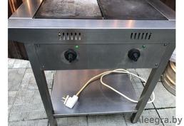 Промышленная плита для кухни в кафе и бары