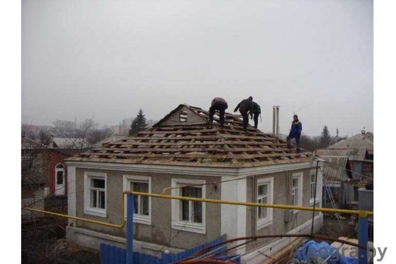 Кровля под ключ., замена старой крыши