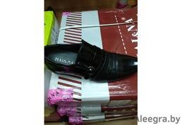 Туфли мужские, новые, лакированные