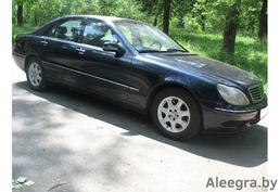 Mercedes-Benz S-Класс W220, 2001