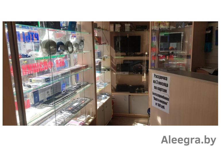Павильон по продаже и ремонту компьютеров, ноутбуков