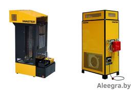 жидкотопливный стационарный нагреватель воздуха на отработанных маслах master wa 33