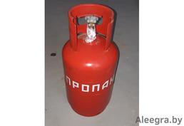 Баллон газовый бытовой с вентилем 12 л. Заправленный с Газом, полный. Проверен.