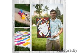 Как сделать оригинальный подарок - Флип Флоп портрет!