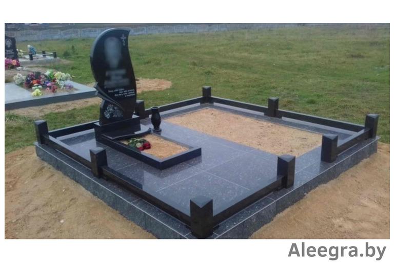Работы на кладбище. Установим Памятник под ключ в Новогрудке и рн