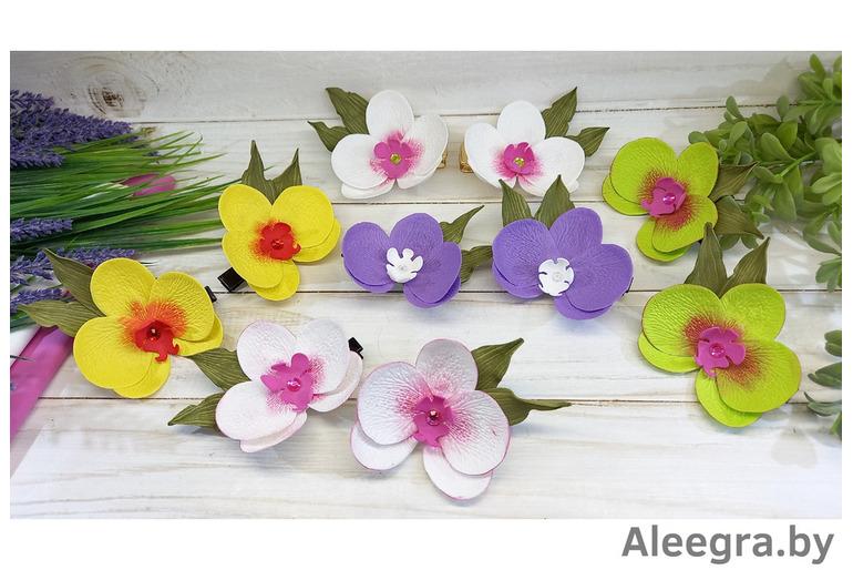 Бантики, цветы из фома